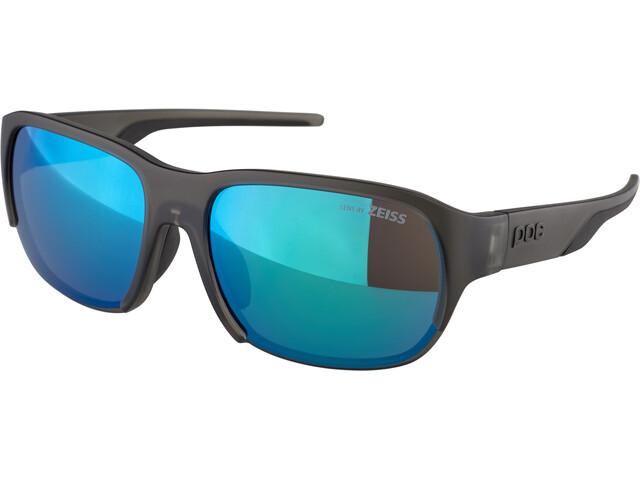 POC Define Gafas de Sol, uranium black translucent/grey deep green mirror
